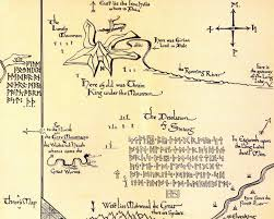 map hobbit an thror s map and runes of thorin