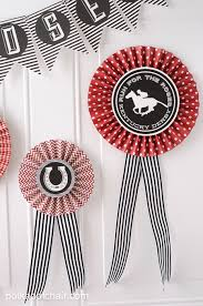 kentucky derby ideas and free printables on polkadotchair