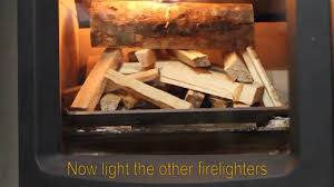 manor house how to light a wood burning fire top down stovax