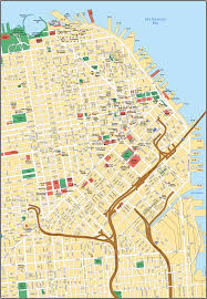 America Map San Francisco by Map Of San Francisco Yourcitymaps Com