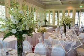 Flower Arrangements For Tall Vases Donvale Flower Gallery Table Centres Tall Vases Table Flower
