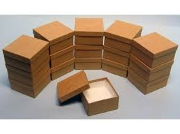 awesome jewelry boxes wholesale 50 pack kraft color cotton