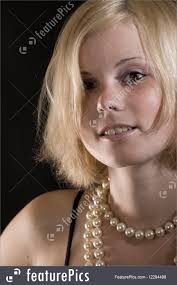 girl pearl necklace images Young girl portrait jpg