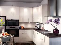 ikea kitchen white cabinets fabulous kitchen in exotic home interior design ideas with glossy