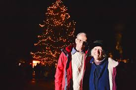 worcestershire couple who planted old 6 christmas tree in their