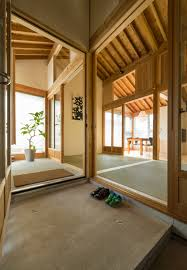 tatami mats create gridded layout for tokmoto u0027s inari house