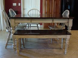 remodelaholic kitchen table refinished with distressed look