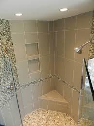 flooring bath river rock shower tile pebbleor black lovely