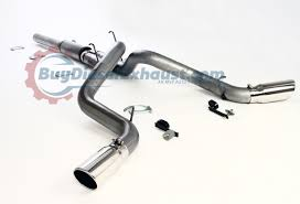 Dodge Ram Cummins Accessories - performance racing cat back dual exhaust system muffler dodge