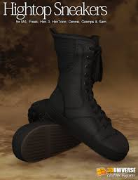 high top motorcycle shoes hightop sneakers guys 3d models and 3d software by daz 3d