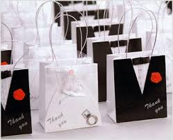 wedding favor bag mini and groom wedding favor bag hansonellis