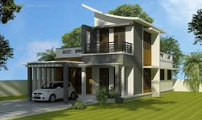 1231 sq ft double floor contemporary home designs