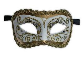 fancy masquerade masks fancy masquerade mask white gold glitter mask shop