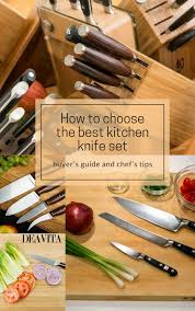 how to choose kitchen knives how to choose the best kitchen knife set you need high quality