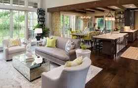 living room kitchen family room design 17 open concept kitchen
