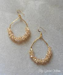 earrings diy 20 diy earring projects my girlish whims