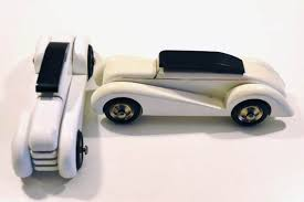 vilac france two wooden art deco style cars catawiki