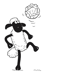 coloring pages shaun the sheep coloring pages mycoloring free