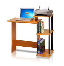 computer and printer table computer desk laptop table with raise monitor printer shelf