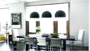 wide pendant light over dining table design ideas 38 in johns