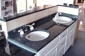 blue pearl granite with white cabinets blue pearl granite w white cabinet bathrooms pinterest blue