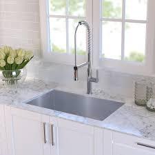 30 Inch Drop In Kitchen Sink Kraus 30 X 18 Undermount Kitchen Sink Reviews Wayfair