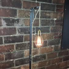 Steampunk Furniture Floor Lamp Industrial Style Pendant Edison Bulb Hanging