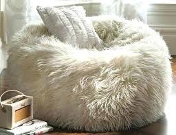 white fur bean bag chair fur bean bag chair amazon u2013 digitalharbor