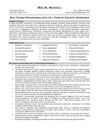 Maintenance Resume Format Construction Superintendent Resume Examples And Samples
