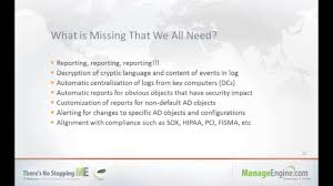 what is chagne made of webinar active directory change auditing made easy youtube