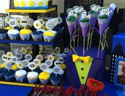 batman centerpieces batman joker birthday aj s 6th birthday party catch my party