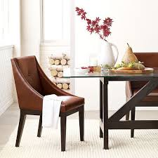 Colored Leather Dining Chairs Chairs Marvellous Modern Upholstered Dining Chairs Modern