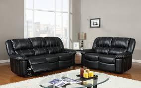 global furniture bonded leather sofa u9966 reclining sofa black bonded leather global furniture usa