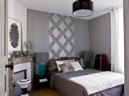 chambre grise et deco chambre violet gris décoration de maison contemporaine