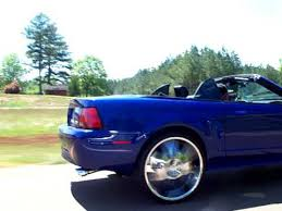01 mustang convertible top 2004 convertible mustang on 24 s