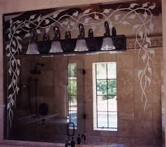 Etched Bathroom Mirror 44 Best Custom Mirrors Images On Pinterest Custom Mirrors