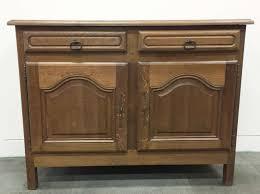 antique french rustic oak buffet sideboard cabinet k075