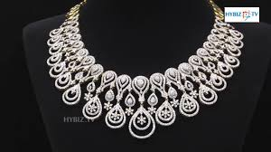 diamond set broad diamond necklace set malabar gold and