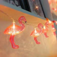 red string lights for bedroom 1x red flamingo led string light battery opetated 1 5m 10led bedroom