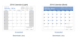 10 sites for download free calendar template html css template