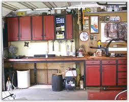 Install Kitchen Cabinets In Garage Garage Pinterest Kitchens