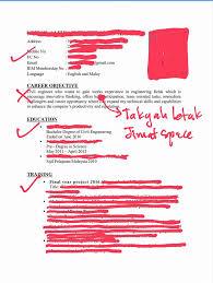 cara membuat resume kerja yang betul panduan kesilapan dalam resume career centre malaysia