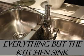 IDIOM  EVERYTHING BUT THE KITCHEN SINK English Course Malta - Everything and the kitchen sink