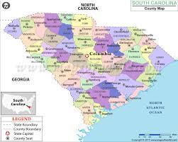 carolina world map buy south carolina county map