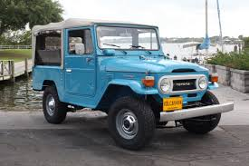icon fj43 volcan 4x4 restored toyota fj43 land cruiser soft top stock japan