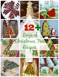 12 days of christmas tree recipes desert chica