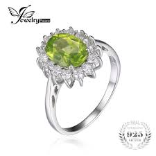 peridot engagement ring get cheap engagement rings peridot aliexpress