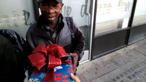 christmas gifts for the homeless youtube