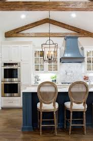 white kitchen cabinets with blue island 15 gorgeous blue kitchen designs you ll want to re create
