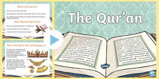 the quran powerpoint and worksheet pack the quran the quran